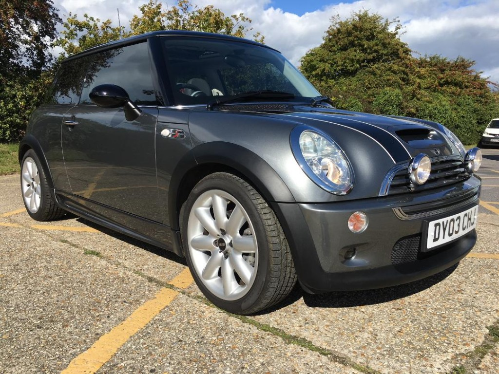 2003 BMW Mini Cooper S. Only 16k and 1 previous owner. Like new ...