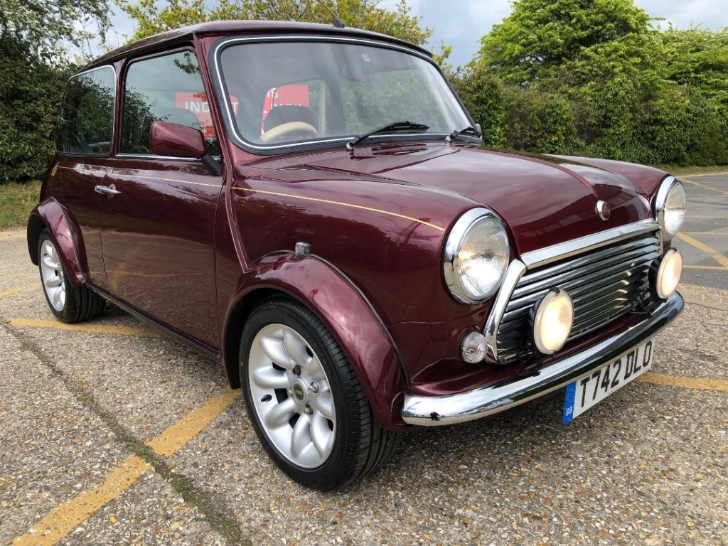 1999 Rover Mini 40 Limited Edition 1275cc Mpi Mulberry Red Full